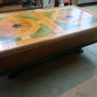 Table basse bar en chêne